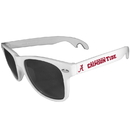 Siskiyou Buckle CS1B13W Alabama Crimson Tide Beachfarer Bottle Opener Sunglasses, White