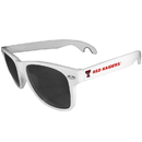 Siskiyou Buckle CS1B30W Texas Tech Raiders Beachfarer Bottle Opener Sunglasses, White