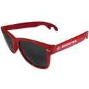 Siskiyou Buckle CS1B38R Ohio St. Buckeyes Beachfarer Bottle Opener Sunglasses, Red