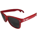 Siskiyou Buckle CS1B3R Nebraska Cornhuskers Beachfarer Bottle Opener Sunglasses, Red