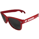 Siskiyou Buckle CS1B51R Wisconsin Badgers Beachfarer Bottle Opener Sunglasses, Red