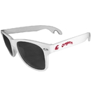 Siskiyou Buckle CS1B71W Washington St. Cougars Beachfarer Bottle Opener Sunglasses, White