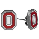 Siskiyou Buckle CSE38 Ohio St. Buckeyes Stud Earrings