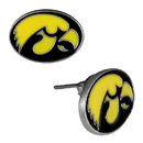 Siskiyou Buckle CSE52 Iowa Hawkeyes Stud Earrings