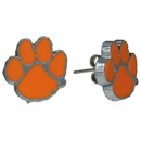 Siskiyou Buckle CSE69 Clemson Tigers Stud Earrings