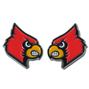 Siskiyou Buckle CSE88 Louisville Cardinals Stud Earrings