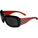 Siskiyou Buckle CSG51W Wisconsin Badgers Designer Women's Sunglasses
