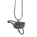 Siskiyou Buckle Florida Gators State Charm Necklace, CSN4