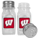 Siskiyou Buckle Wisconsin Badgers Graphics Salt & Pepper Shaker, CSPP51