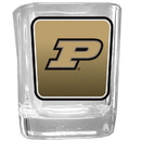 Siskiyou Buckle CSQP84 Purdue Boilermakers Square Glass Shot Glass
