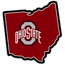 Siskiyou Buckle CSTM38 Ohio St. Buckeyes Home State 11 Inch Magnet