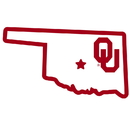 Siskiyou Buckle CSTM48 Oklahoma Sooners Home State 11 Inch Magnet