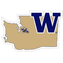 Siskiyou Buckle CSTM49 Washington Huskies Home State 11 Inch Magnet