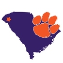 Siskiyou Buckle CSTM69 Clemson Tigers Home State 11 Inch Magnet
