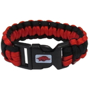 Siskiyou Buckle CSUB12 Arkansas Razorbacks Survivor Bracelet