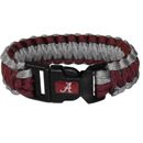 Siskiyou Buckle CSUB13 Alabama Crimson Tide Survivor Bracelet