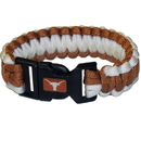 Siskiyou Buckle CSUB22 Texas Longhorns Survivor Bracelet