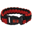 Siskiyou Buckle CSUB30 Texas Tech Raiders Survivor Bracelet