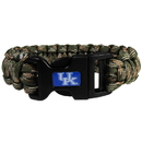 Siskiyou Buckle CSUB35GC Kentucky Wildcats Camo Survivor Bracelet