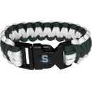 Siskiyou Buckle CSUB41 Michigan St. Spartans Survivor Bracelet