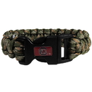 Siskiyou Buckle CSUB63GC S. Carolina Gamecocks Camo Survivor Bracelet