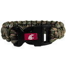 Siskiyou Buckle CSUB71GC Washington St. Cougars Camo Survivor Bracelet
