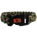 Siskiyou Buckle CSUB72GC Oregon St. Beavers Camo Survivor Bracelet