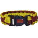Siskiyou Buckle CSUB83 Iowa St. Cyclones Survivor Bracelet