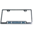 Siskiyou Buckle CTFB36 Michigan Wolverines Bling Tag Frame