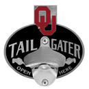 Siskiyou Buckle CTH48TZ Oklahoma Sooners Tailgater Hitch Cover Class III