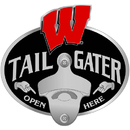 Siskiyou Buckle CTH51TZ Wisconsin Badgers Tailgater Hitch Cover Class III
