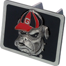 Siskiyou Buckle CTH5SD Georgia Bulldogs Hitch Cover Class II and Class III Metal Plugs
