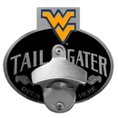 Siskiyou Buckle CTH60TZ W. Virginia Mountaineers Tailgater Hitch Cover Class III