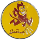 Siskiyou Buckle CTH68B Arizona St. Sun Devils Hitch Cover Class III Wire Plugs