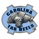 Siskiyou Buckle CTH9B N. Carolina Tar Heels Hitch Cover Class III Wire Plugs