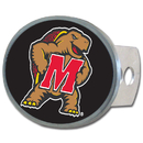 Siskiyou Buckle CTHO64 Maryland Terrapins Oval Metal Hitch Cover Class II and III
