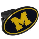 Siskiyou Buckle CTHP36 Michigan Wolverines  Plastic Hitch Cover Class III