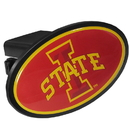 Siskiyou Buckle Iowa St. Cyclones Plastic Hitch Cover Class III, CTHP83