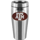 Siskiyou Buckle CTMS26 Texas A & M Aggies Steel Travel Mug