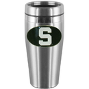 Siskiyou Buckle CTMS41 Michigan St. Spartans Steel Travel Mug