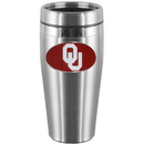 Siskiyou Buckle CTMS48 Oklahoma Sooners Steel Travel Mug