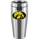 Siskiyou Buckle CTMS52 Iowa Hawkeyes Steel Travel Mug