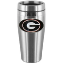 Siskiyou Buckle CTMS5 Georgia Bulldogs Steel Travel Mug