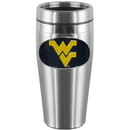 Siskiyou Buckle CTMS60 W. Virginia Mountaineers Steel Travel Mug