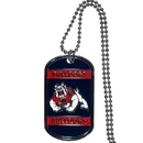 Siskiyou Buckle CTN100 Fresno St. Bulldogs Tag Necklace