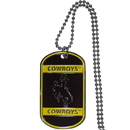 Siskiyou Buckle CTN121 Wyoming Cowboy Tag Necklace