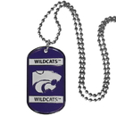 Siskiyou Buckle CTN15 Kansas St. Wildcats Tag Necklace