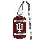 Siskiyou Buckle Indiana Hoosiers Tag Necklace, CTN39
