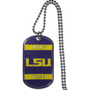 Siskiyou Buckle CTN43 LSU Tigers Tag Necklace