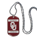 Siskiyou Buckle CTN48 Oklahoma Sooners Tag Necklace